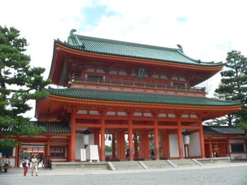 平安神宮 門