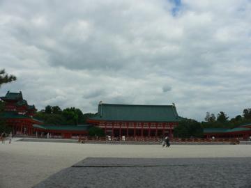 平安神宮内部