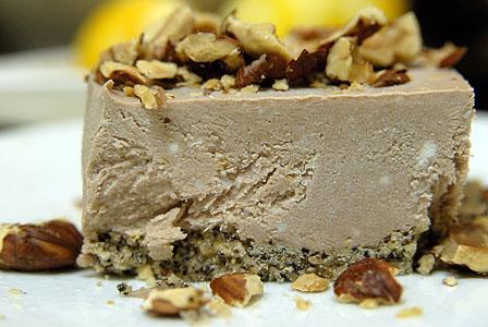 チョコレート・ヘイゼルナッツ・チーズケーキ