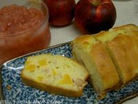 リンゴとさつまいものパウンドケーキ♪