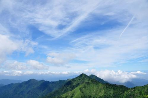 12南尖峰から二ノ森11.07.29