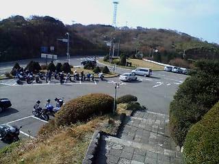 土曜日でもバイクいっぱい!
