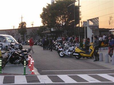 海老名SAオートバイいっぱい!