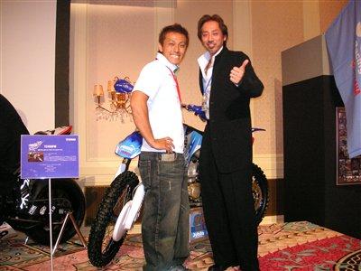 IA1国際A級250cc成田選手