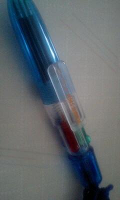 20090925_Roland(ローランド)の4色ボールペン