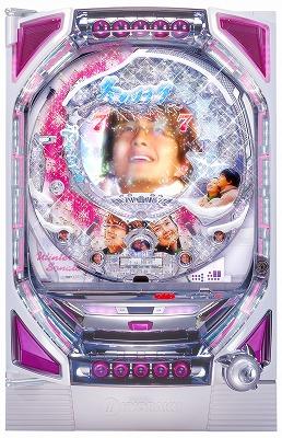 写真キャプション=ついにスペックが発表された「CRぱちんこ冬のソナタ2」(京楽産業.)
