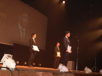 「優秀企業賞」を受賞した3店舗の関係者