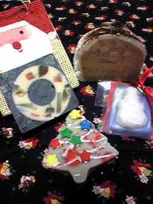 クリスマス石鹸