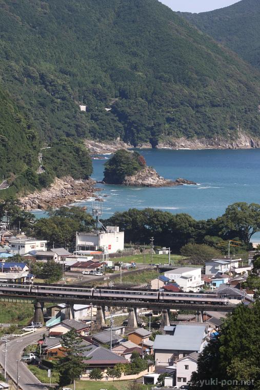 紀勢本線全通50周年フィナーレ号@二木島~新鹿