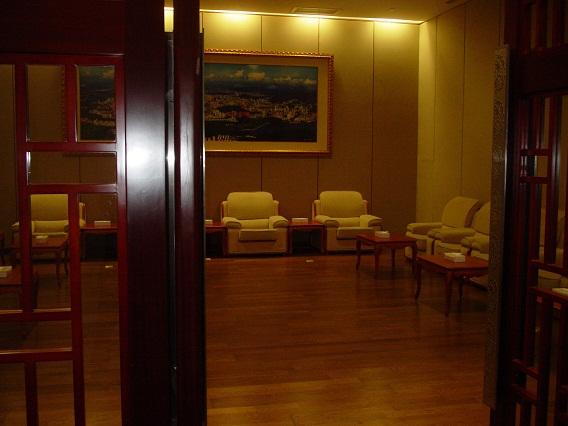 アジア大会 記者会見控室