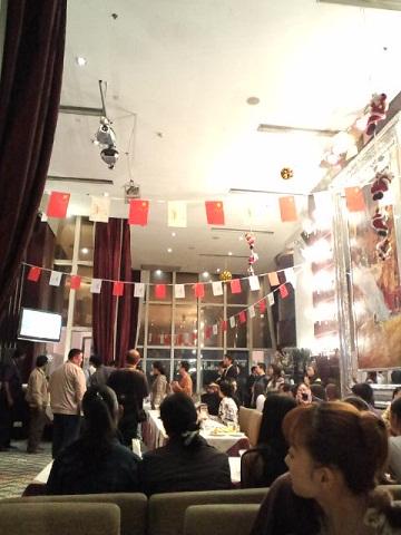 アジア大会 親睦会