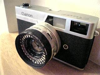 おじいちゃんが使ってたカメラ