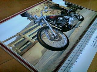 Harleyカレンダーw