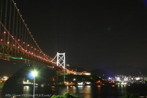 関門海峡Night