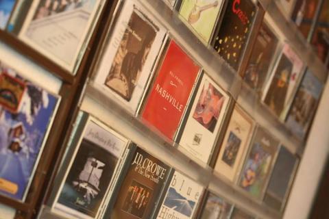 CDがたくさん!