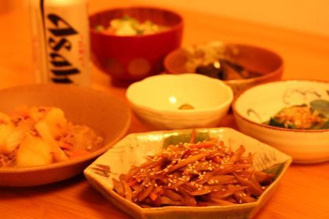今夜は和食でw
