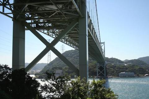 関門海峡~!