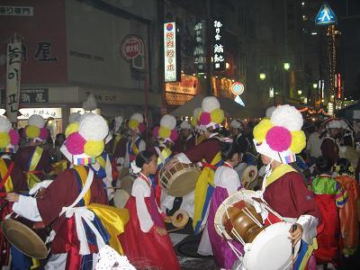 韓国の踊り9.21