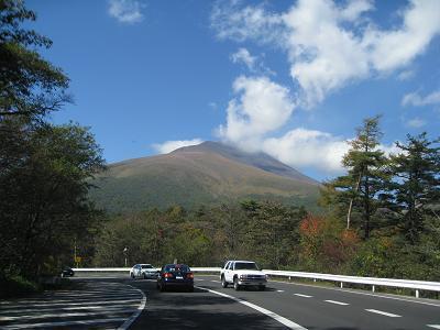 2009年の浅間山10.12