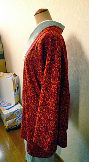 ニット茶羽織3