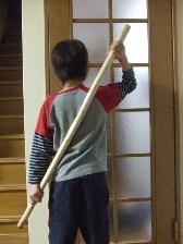 金剛山の杖