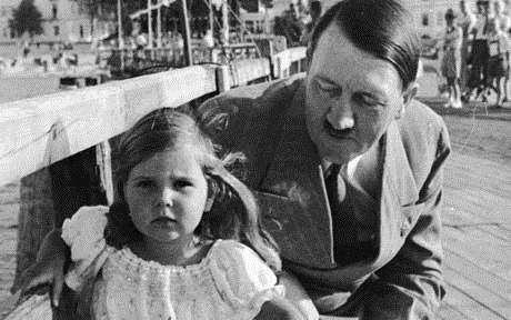 Hitler und Helga Gubbers