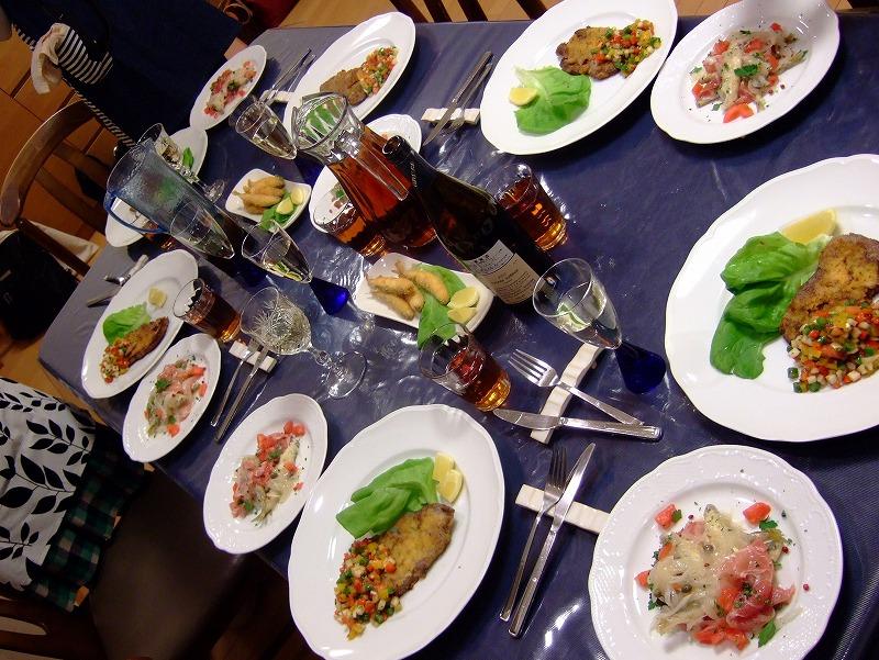 ■ イタリアン お料理教室 上野先生 【2009年4月】