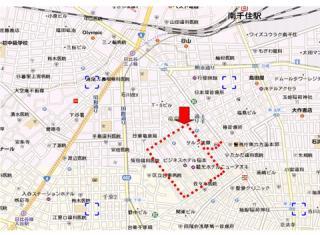 新吉原地図