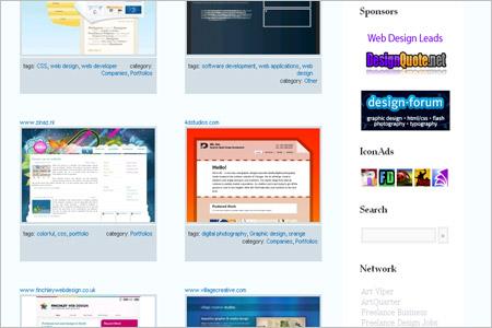 CSSギャラリーサイト