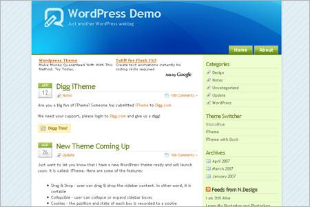 WordPressテンプレート