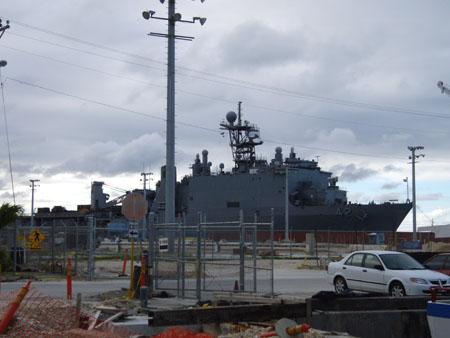 US ネイビーの船