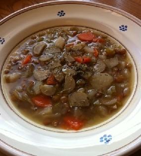 ごぼうスープ