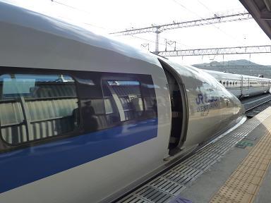 博多南駅から・・・500系・・そして・・