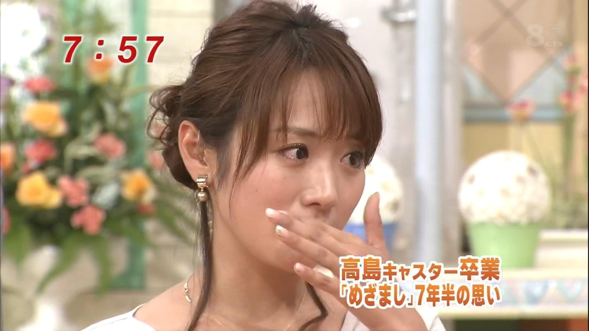 高島彩 泣き顔キャプ画像(エロ・アイコラ画像)