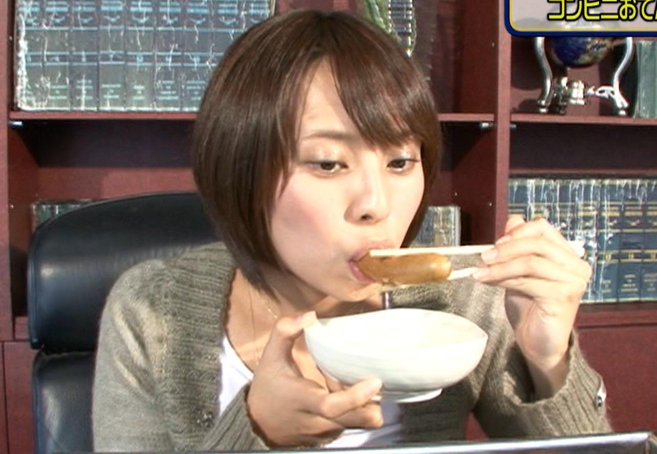 上田まりえ フェラ顔キャプ画像(エロ・アイコラ画像)