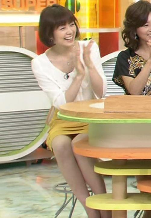 駒村多恵 ミニスカのデルタゾーン (ズームイン!!Super)キャプ画像(エロ・アイコラ画像)