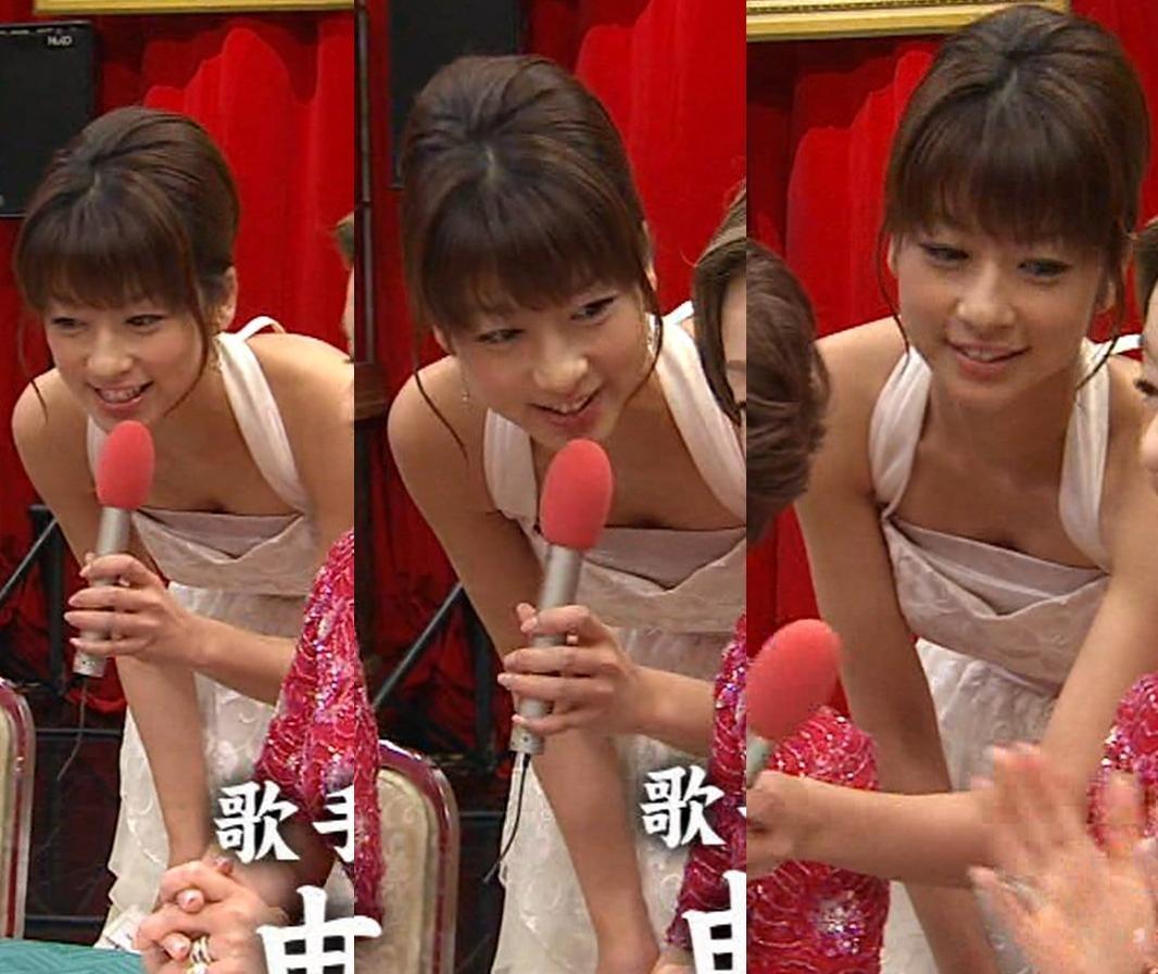 生野陽子 セクシードレスで谷間披露キャプ画像(エロ・アイコラ画像)