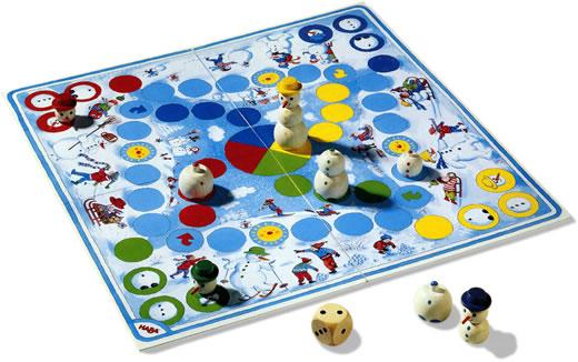スノーマンゲーム:遊戯中