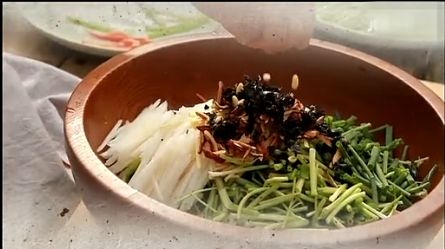 発酵2208 白菜キムチに詰める中身